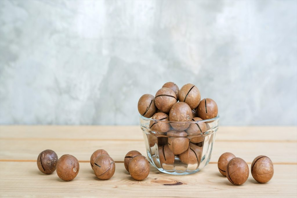 マカダミアナッツのイメージ写真