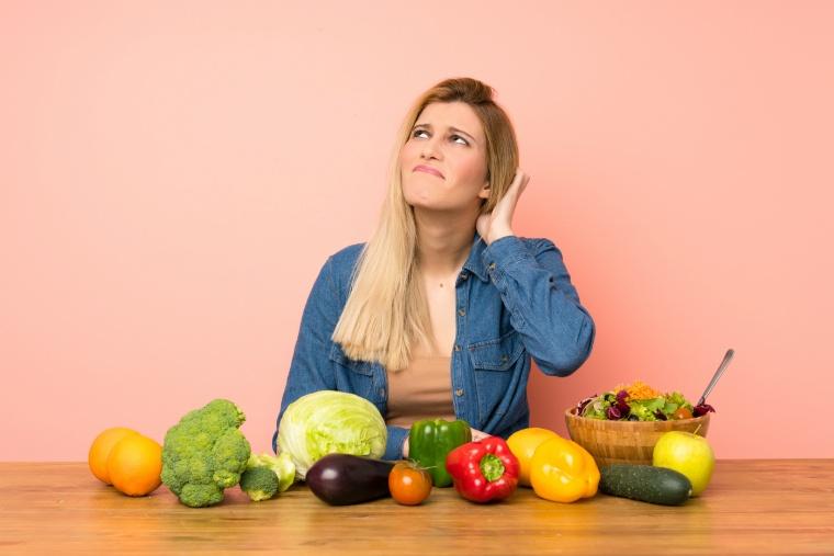 食事制限ダイエットに悩む女性